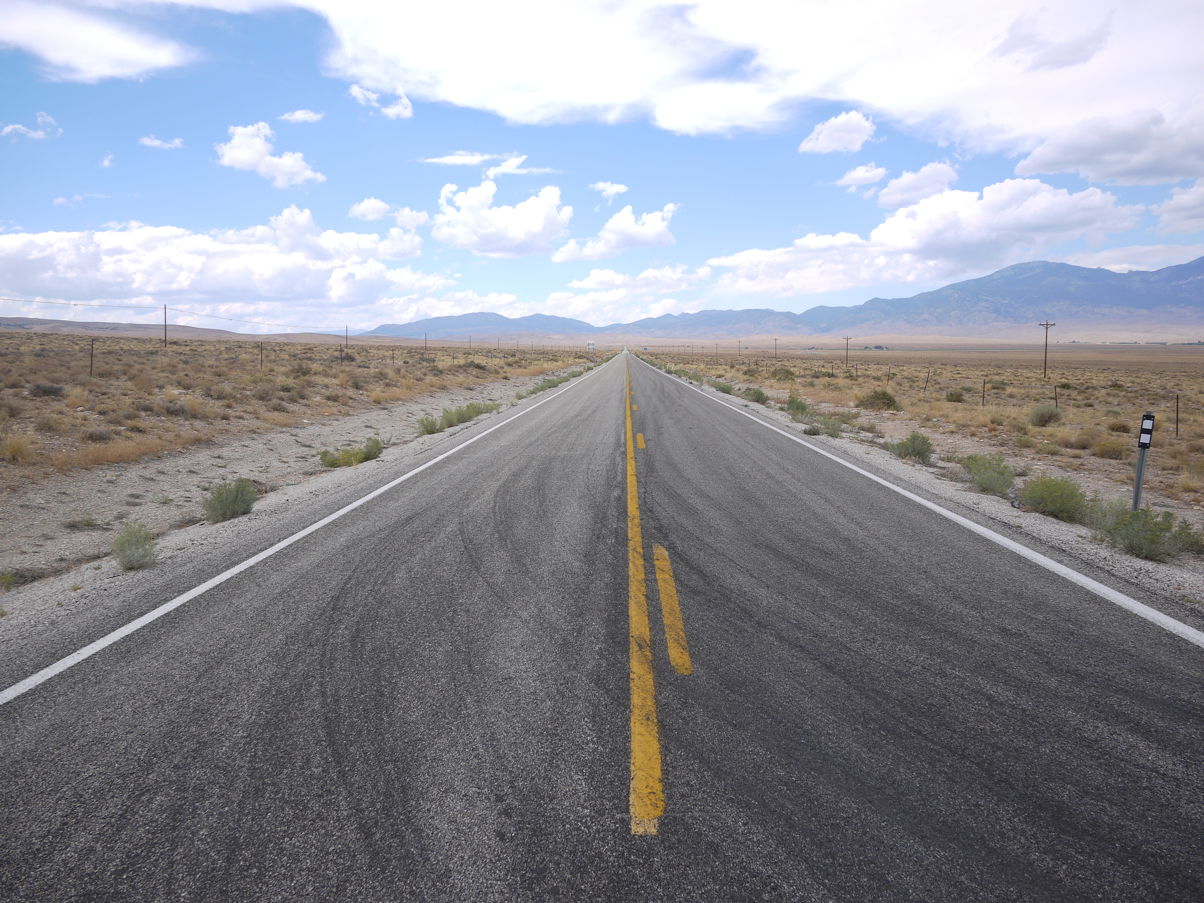 Route 50, across the Nevada Desert - not so scary afterall