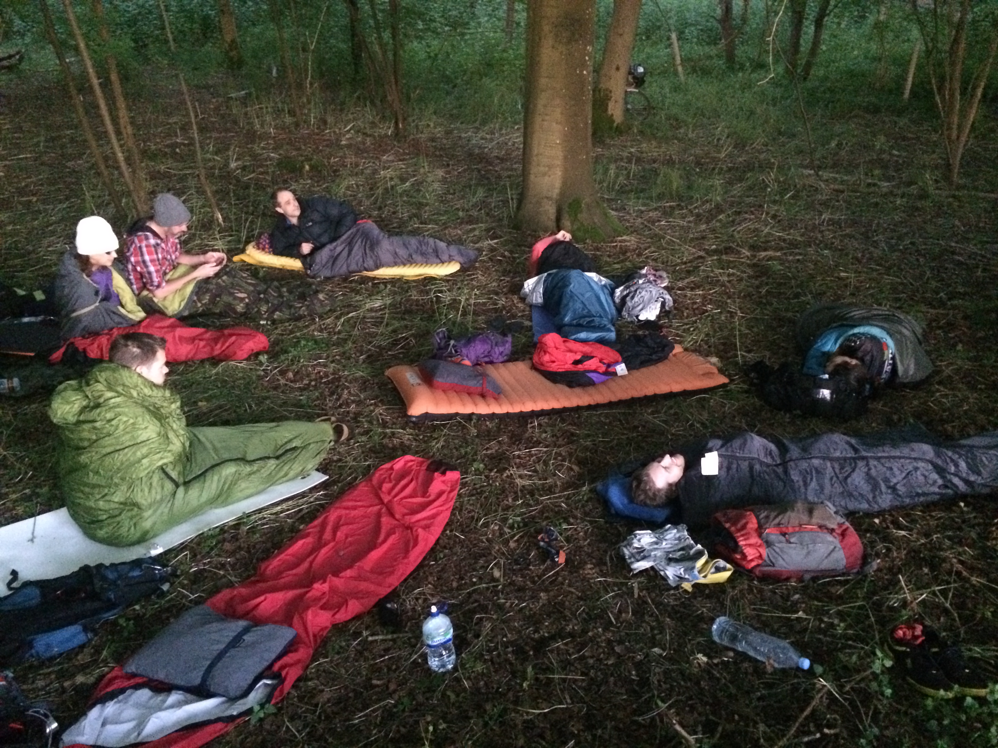A forest camp fit for Kings and Queens