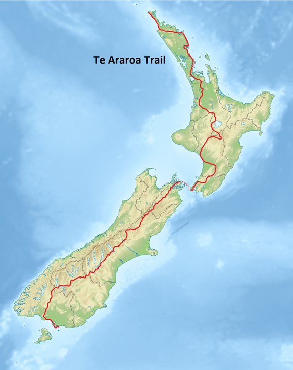 The Te Araroa: 1,800 miles from North to South