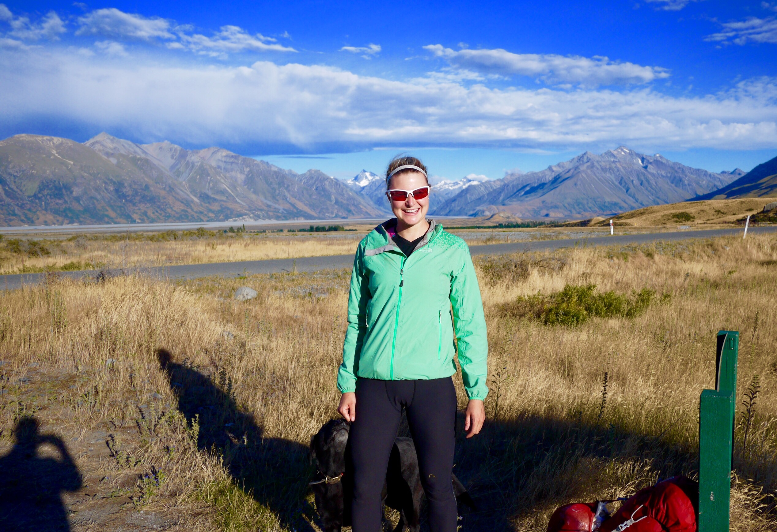 Setting off from the North side of the Rangitata river