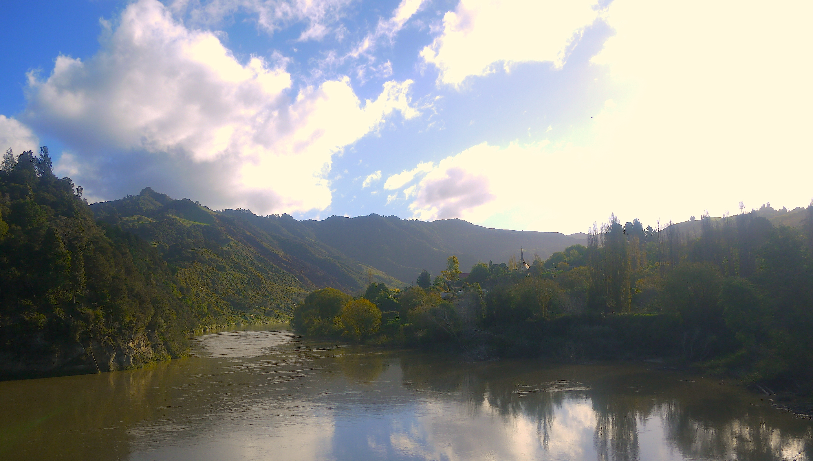 The Church at Jerusalem, on the bend of the Whanganui River